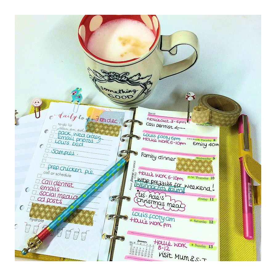 Planning Pretty: Planning With Pretty Pens