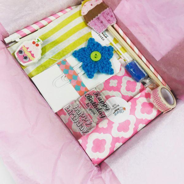 Lollipop Birthday Box