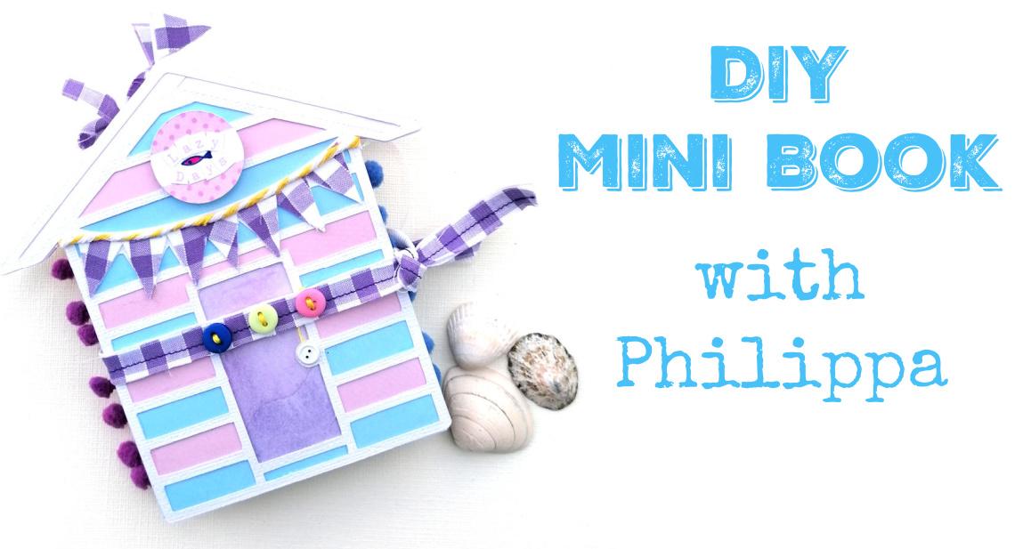 Cute MiniBook DIY with Philippa