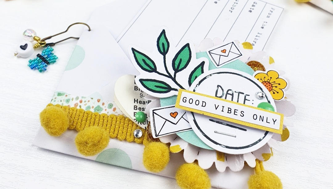 Mini Envelope Embellishments – by Emma Project Sparkle with video