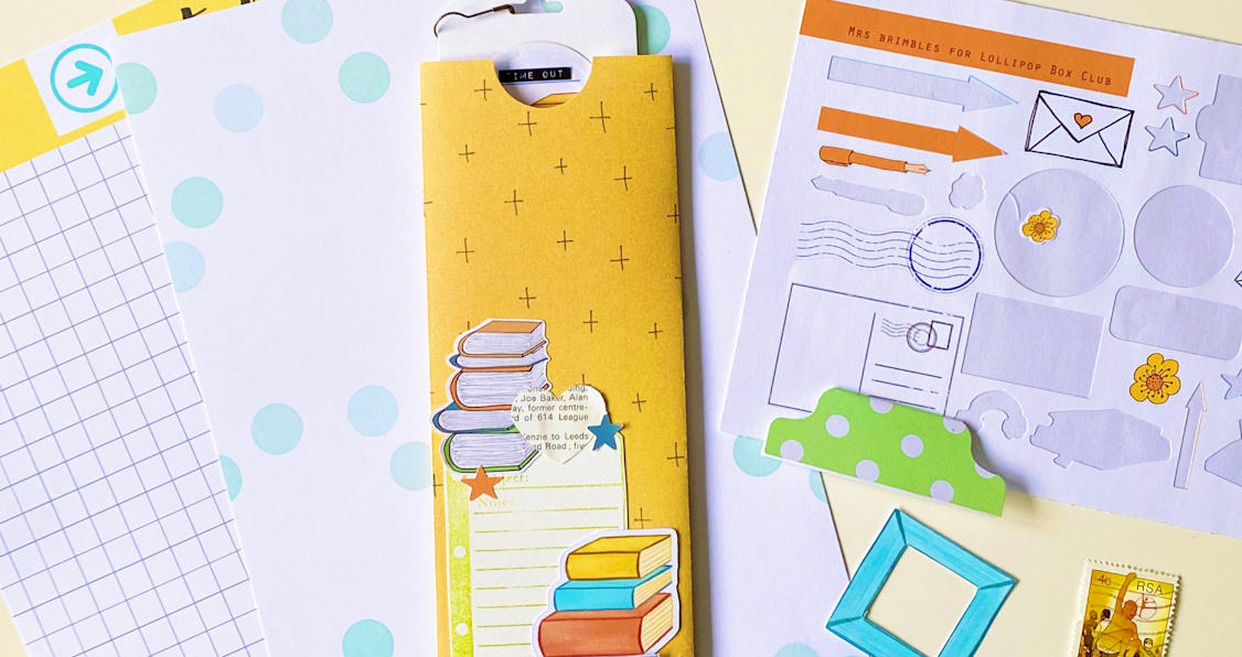 DIY Bookmark with Lorraine