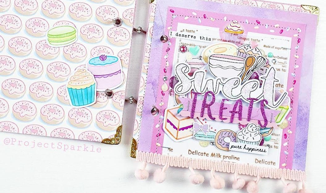 Gratitude Journal Page – Grateful for… Sweet Treats!