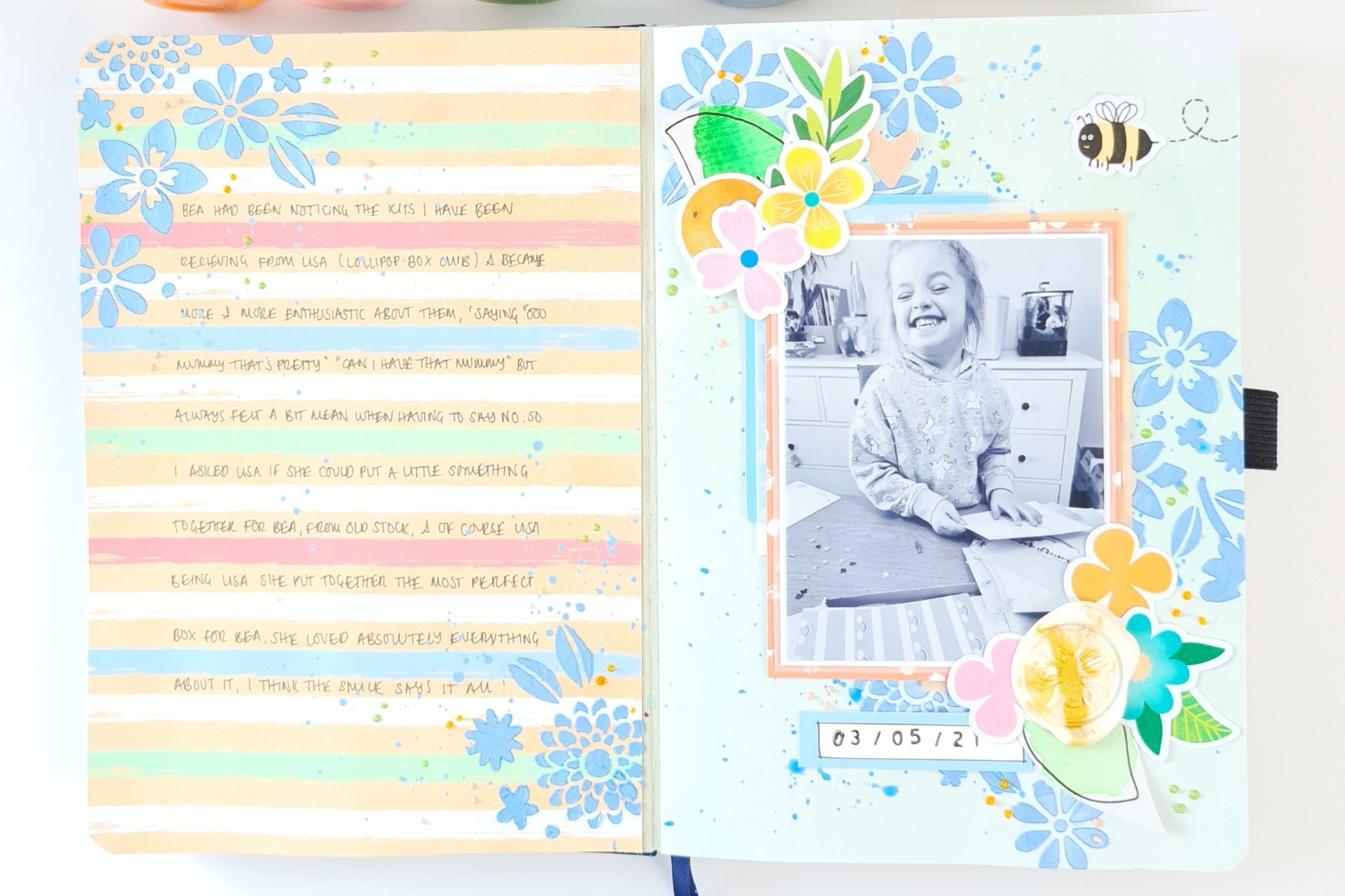 """""""Such A Kind Gift"""" Journal Page – by Emma"""