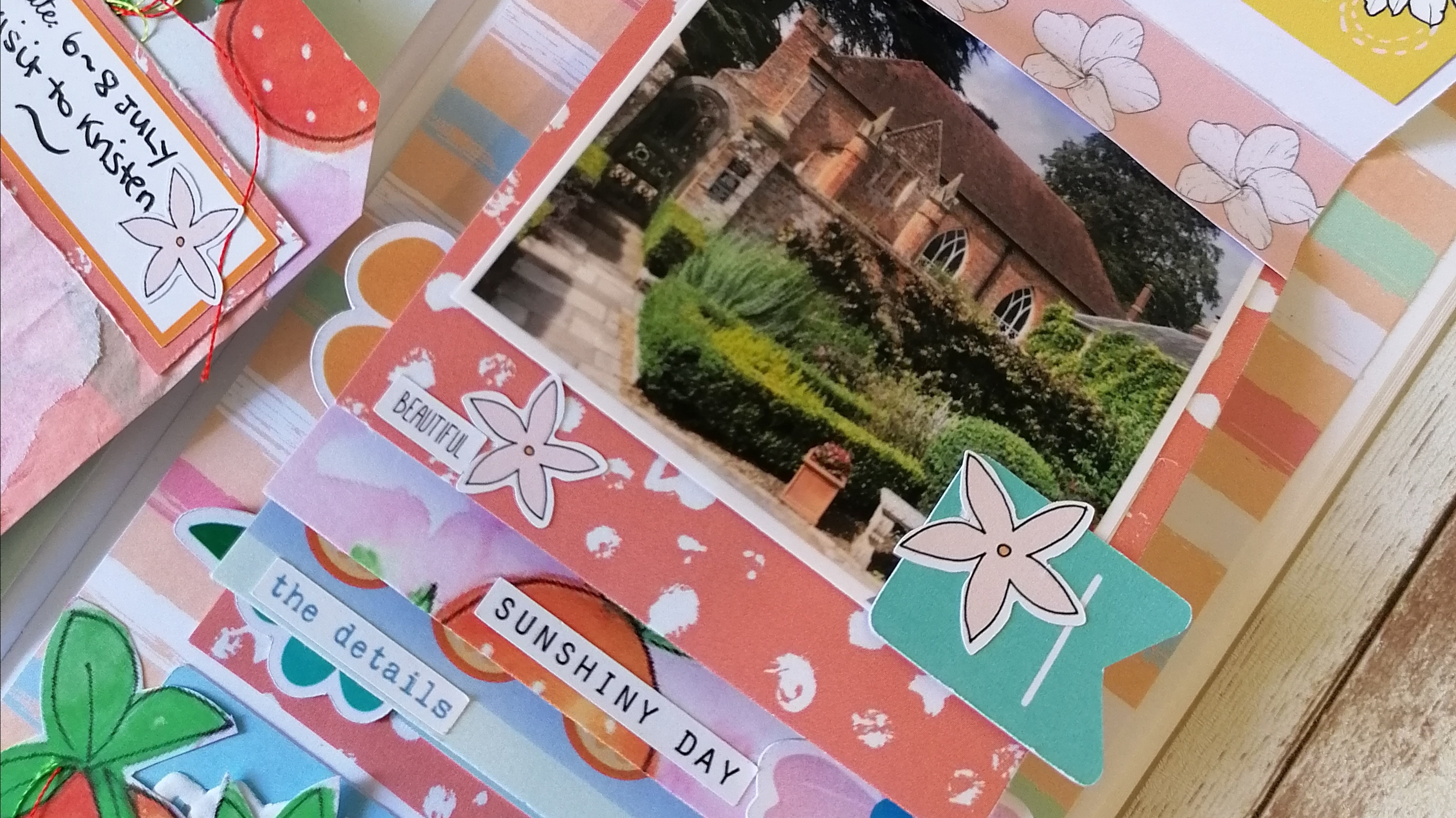 Oh Hello Summer! Travelers Notebook spread by Philippa