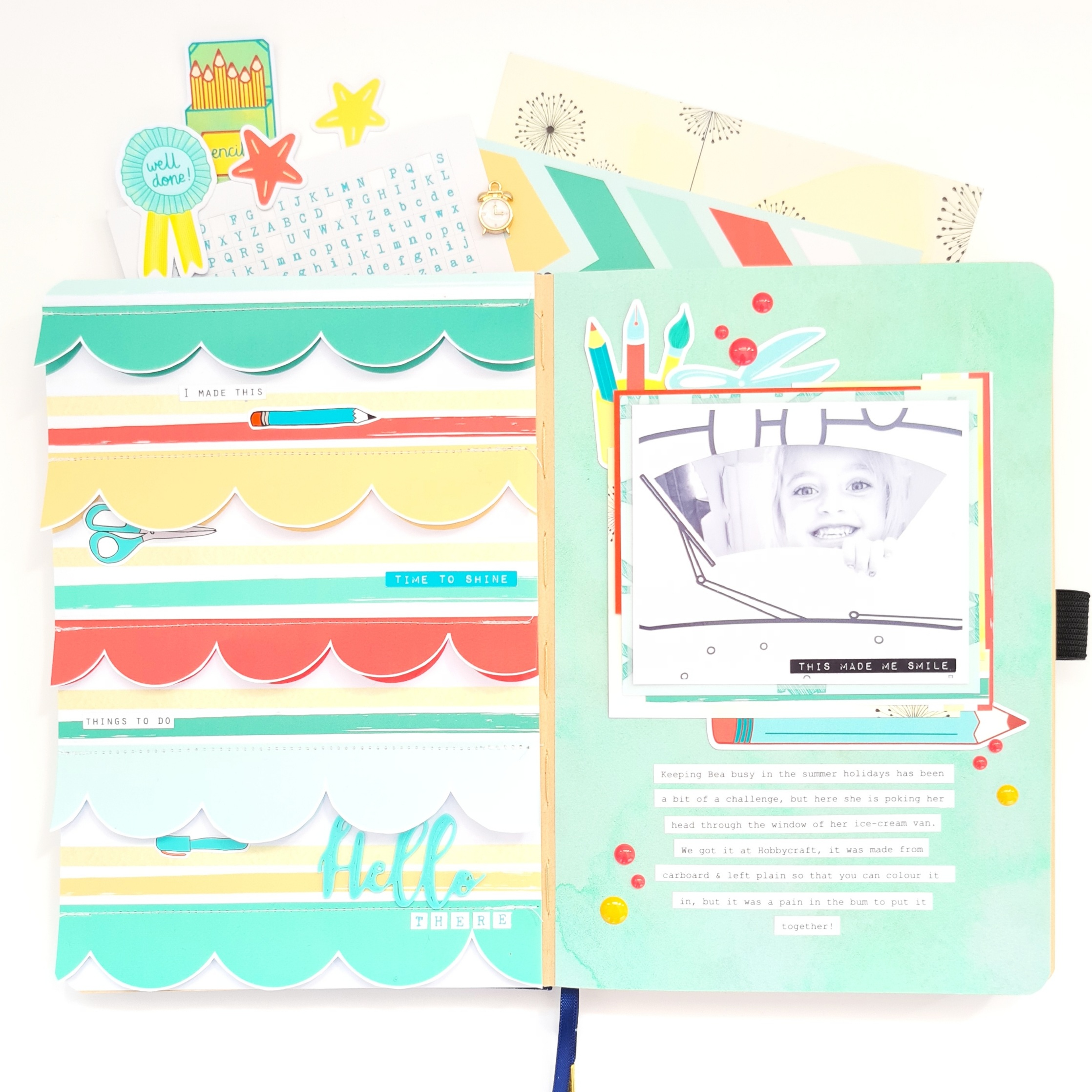 """""""Hello There"""" – Journal Page By Emma Kate"""