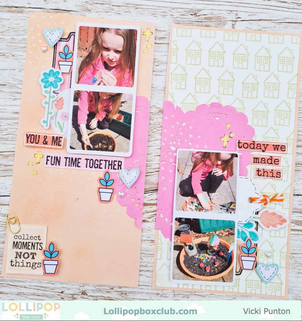 Our Disaster Journal Page with Vicki