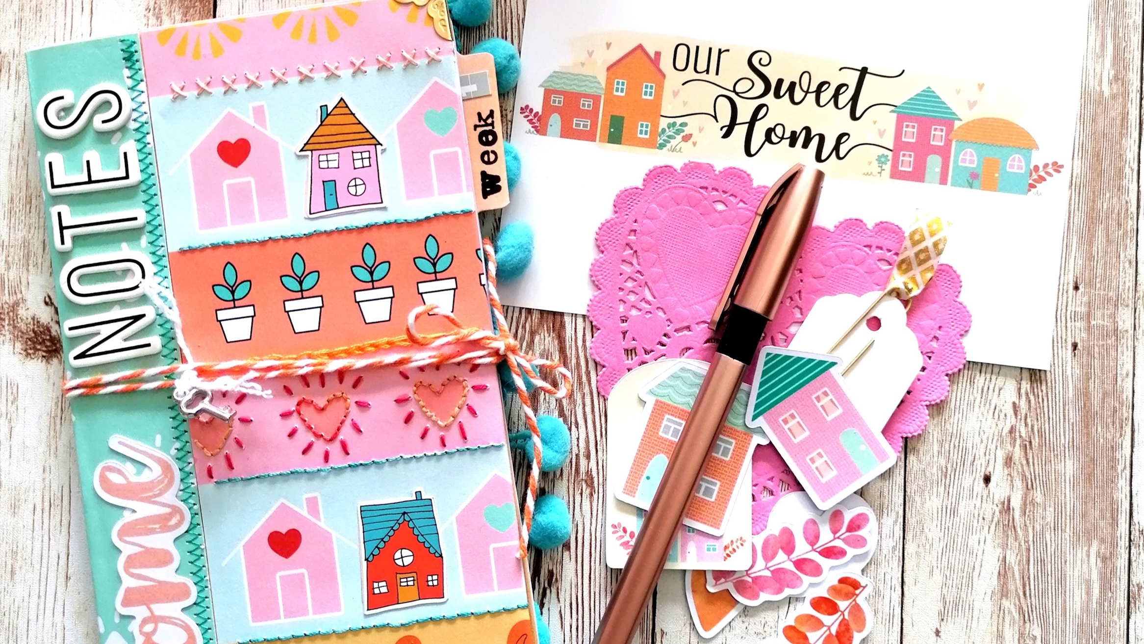 Our 'Not' so sweet home! – Travelers Notebook by Philippa McCray