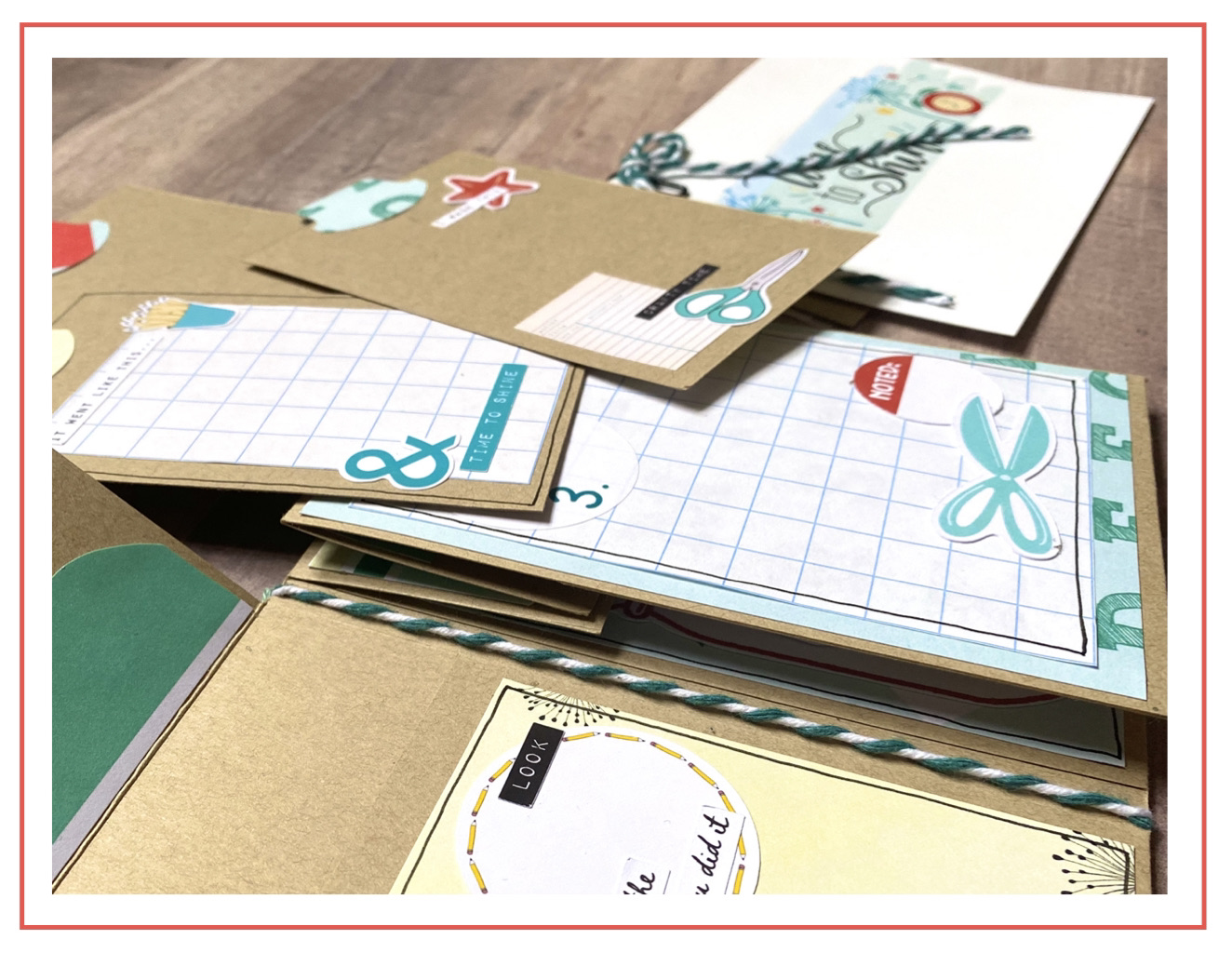 Back To School Tag Book by Lorraine