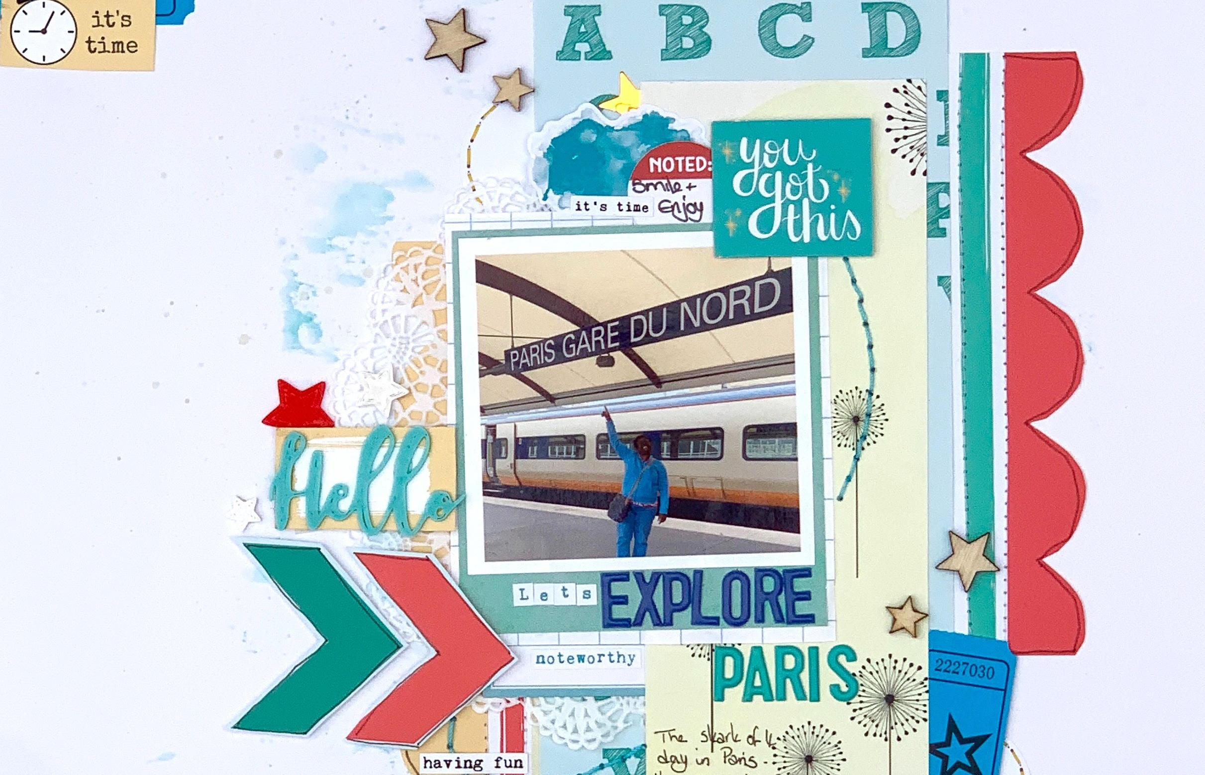 Let's Explore Paris – with Guest Designer Jackie